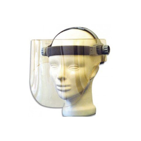 Casque de radioprotection plombé