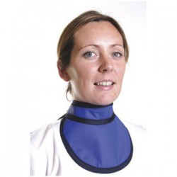 Protège thyroïde radioprotection type B 12cm 0.50PB